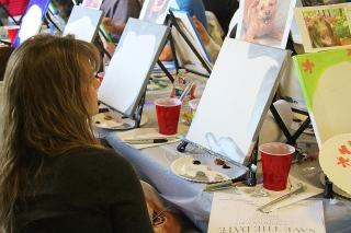 2015 March Paint & Sip Fundraiser